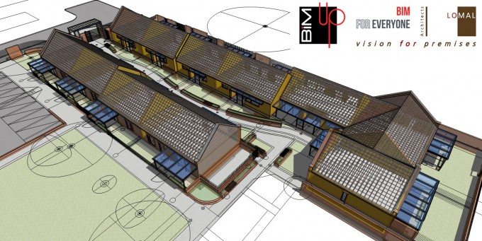 Bimup for sketchup bim construction case study no1 news for Project 5d